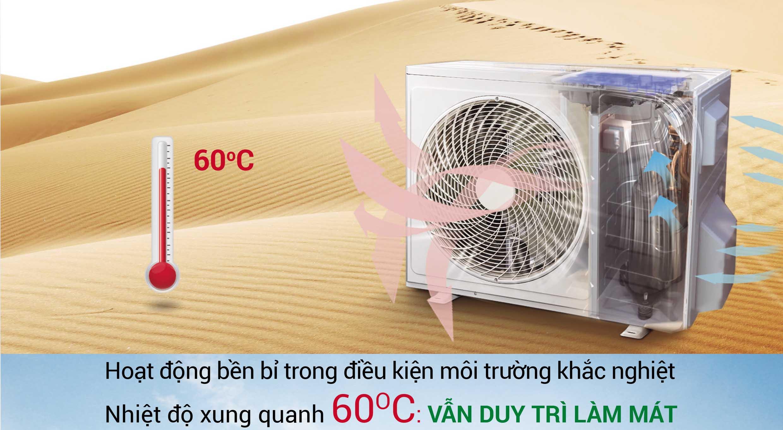 Máy nén điều hòa erito hoạt động bền bị trong môi trường nhiệt độ cao