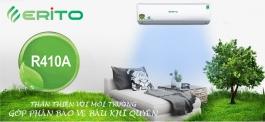 Erito - Điều hòa cao cấp sử dụng gas R410A thân thiện môi trường