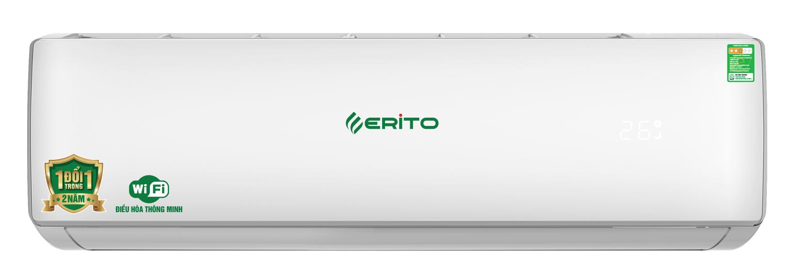 Điều hòa Erito Inverter 24000 BTU một chiều