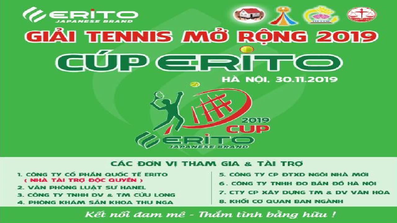 ERITO VIỆT NAM TÀI TRỢ ĐỘC QUYỀN GIẢI TENNIS WORLD TOUR FINAL