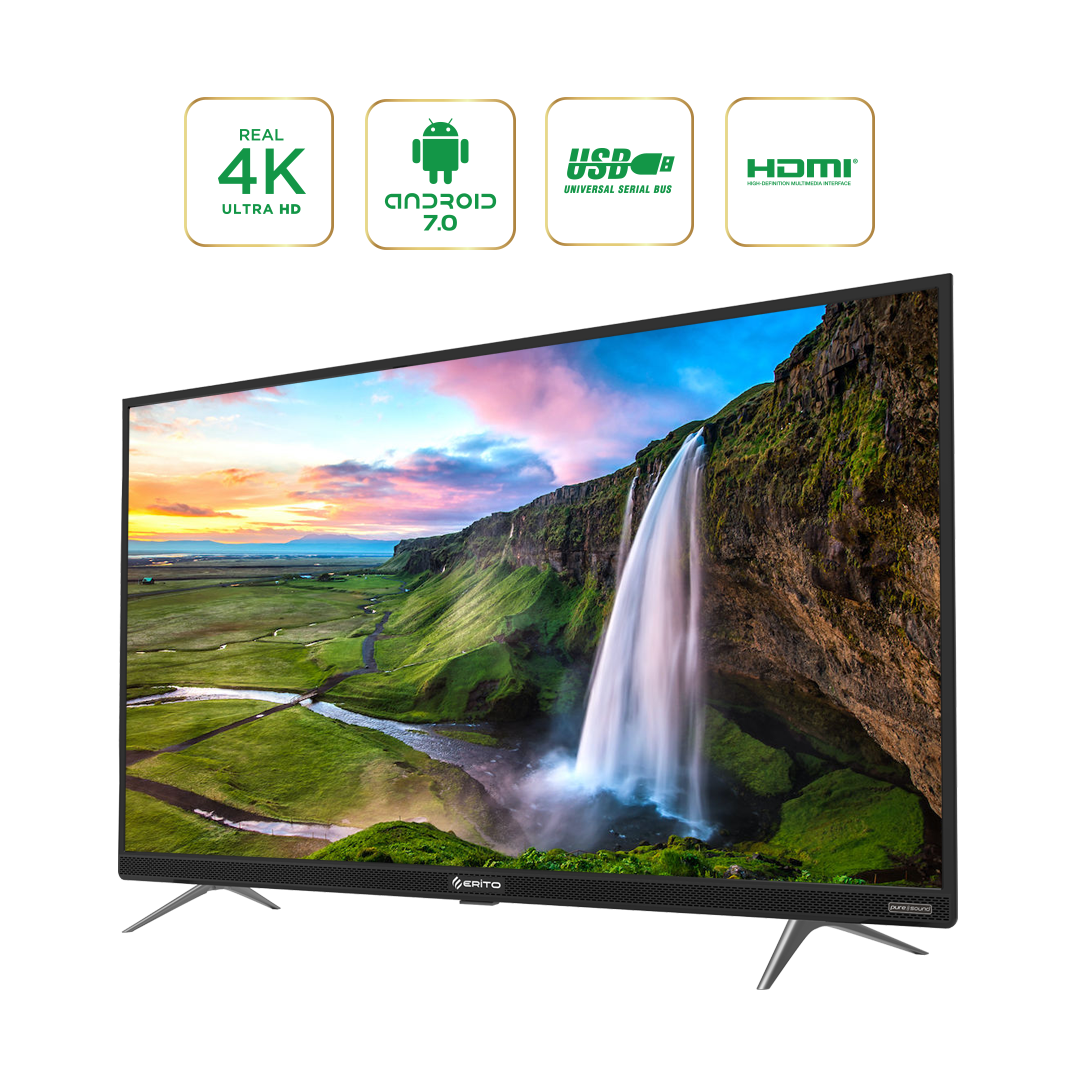 Smart TV điều khiển giọng nói Erito 65inch LTV-6501