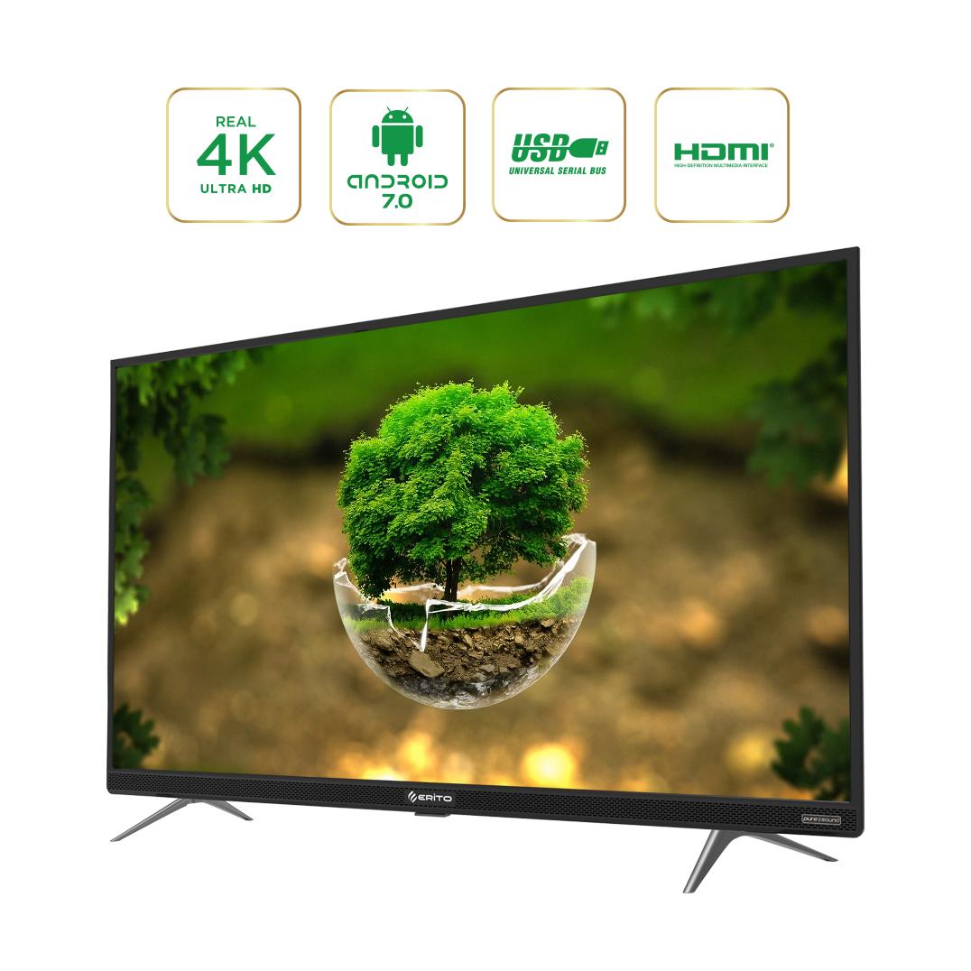 Smart TV điều khiển giọng nói Erito 50inch LTV-5005