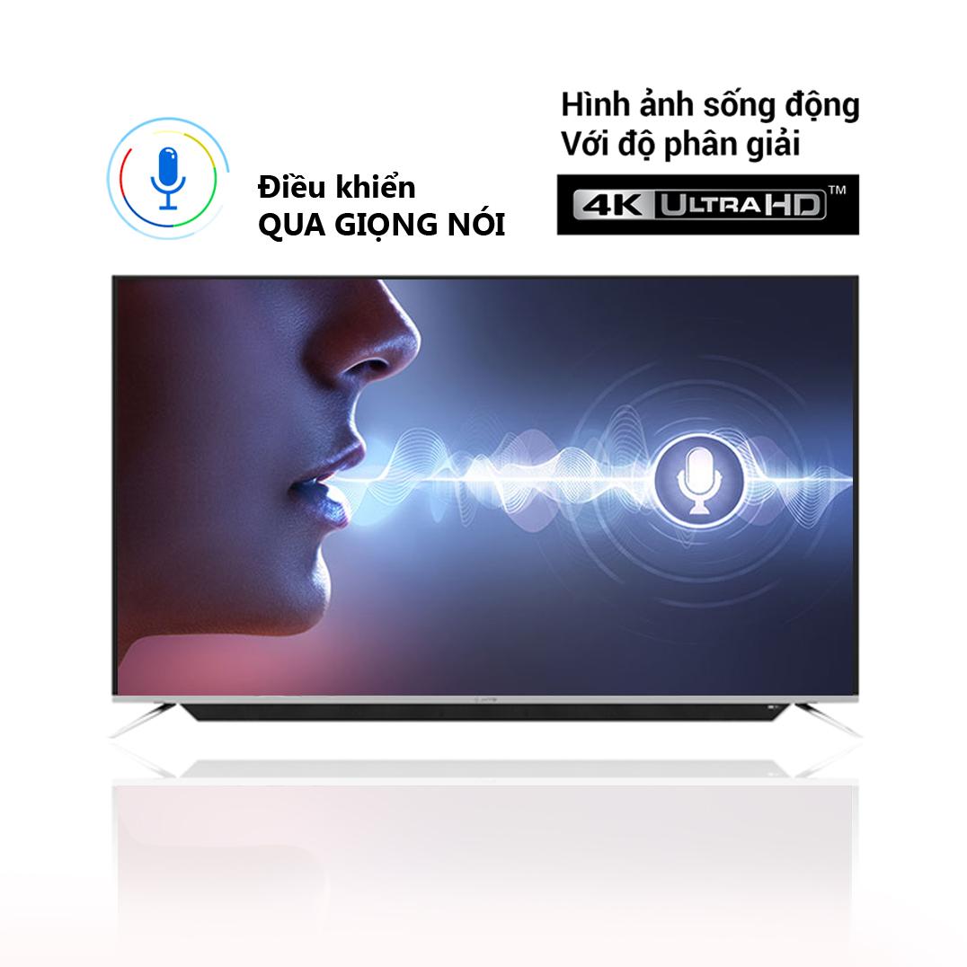 Smart TV điều khiển giọng nói Erito 55inch LTV-5505