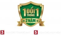 1 ĐỔI 1 TRONG 2 NĂM - LỜI CAM KẾT VỀ CHẤT LƯỢNG SP ERITO
